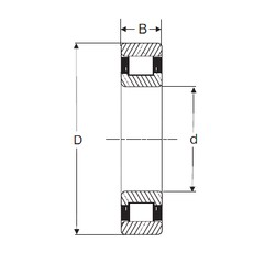 100 mm x 180 mm x 46 mm  SIGMA N 2220 cylindrical roller bearings