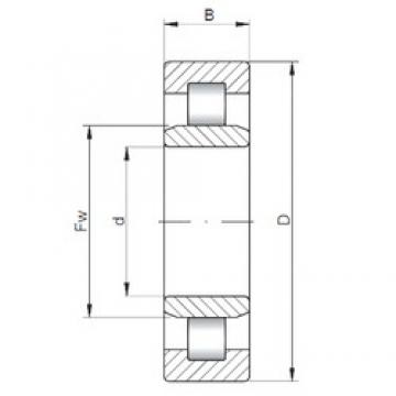 17 mm x 40 mm x 16 mm  ISO NU2203 cylindrical roller bearings