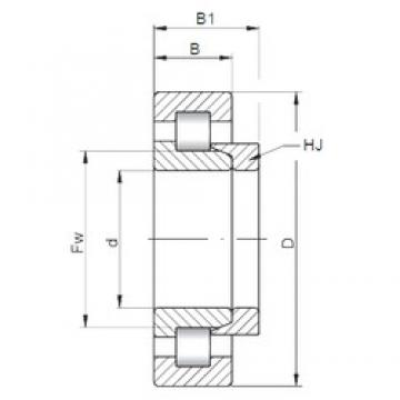 100 mm x 180 mm x 46 mm  ISO NH2220 cylindrical roller bearings